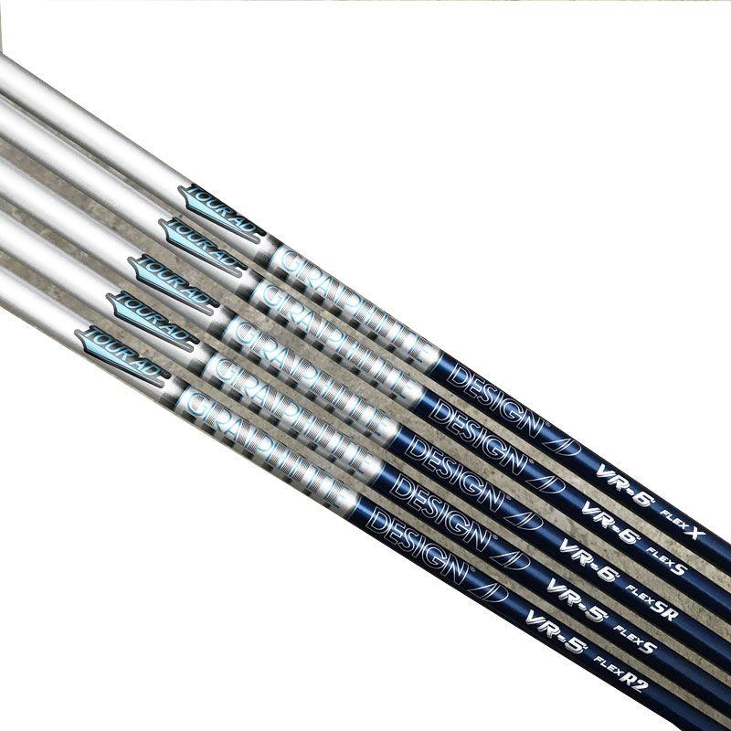 Nuevo Golf Club ejes TOUR AD VR-5 VR-6 Grafito Golf eje de madera R SR rígido X flexión 2pcs mucho eje conductor / Golf