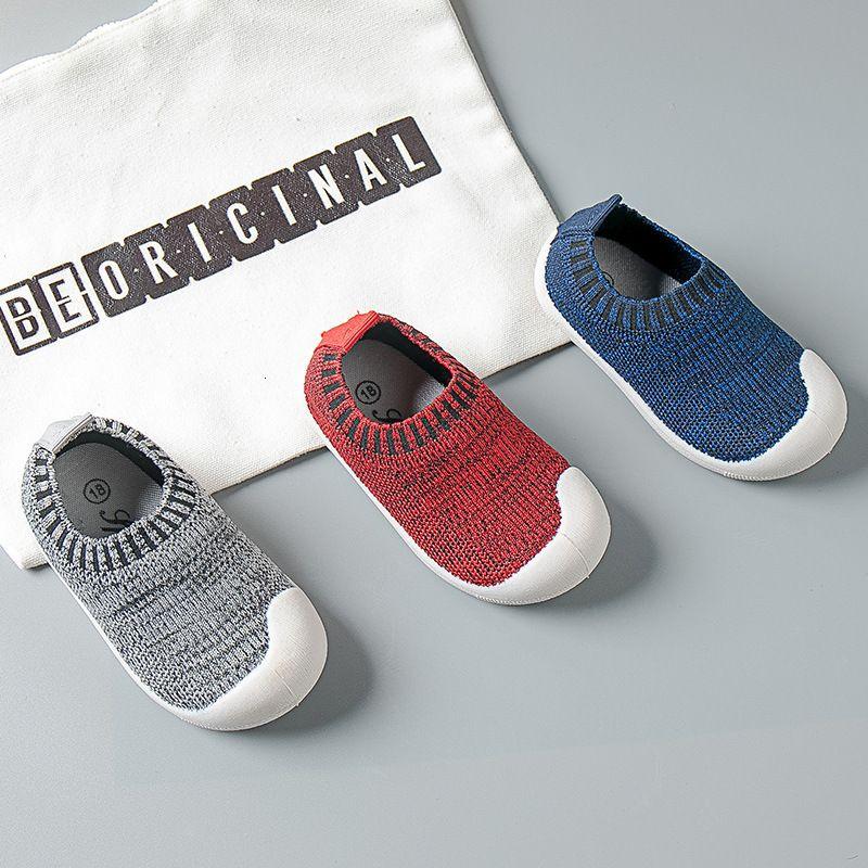 3 Infant Pcs Mix Atacado Outono da menina da criança Menino Casual malha inferior macia confortável antiderrapante Kid Baby First Walkers Shoes
