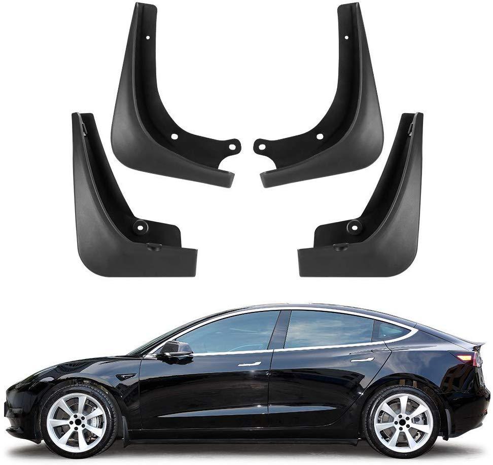 Guardabarros Tesla Model 3 Mud Flaps guardabarros 4 piezas en conjunto una protección completa para Tesla Model 3 Accesorios