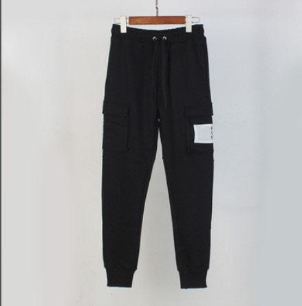 Hot Designer Marque Hommes Femmes Pantalon noir vie Eté Automne Fashion Sport Pantalon Cadrage en pied Lettre broderie Haut 2020302Q Qualité