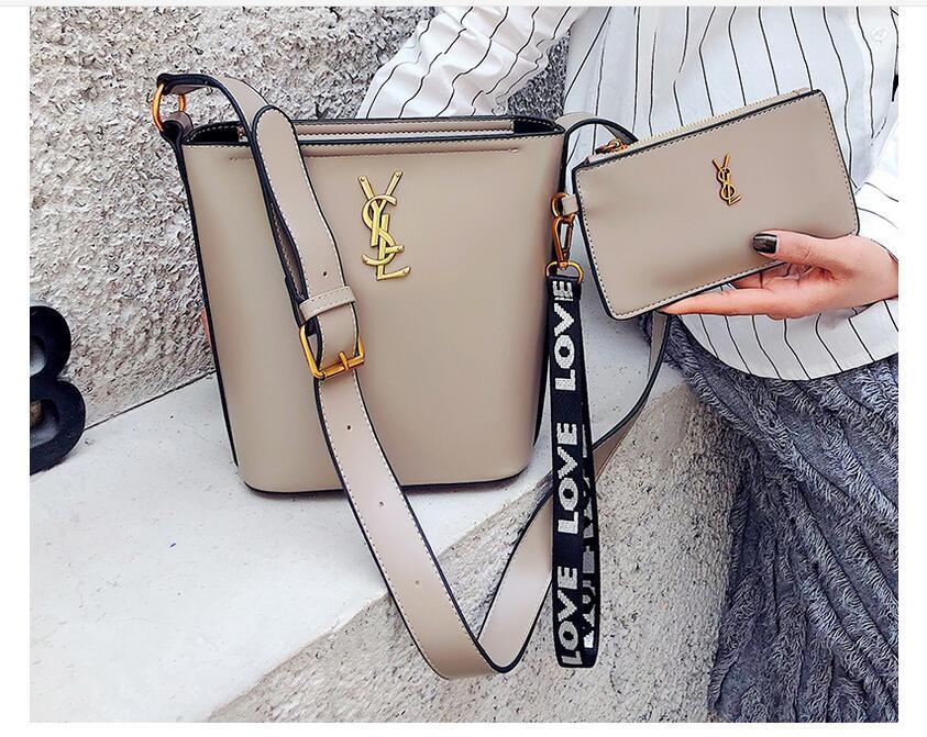 Sacs pour les femmes 2019 Sac Composite seau d'eau Fashion Version Chaîne Décoration simple sac à bandoulière Mode sac de loisirs