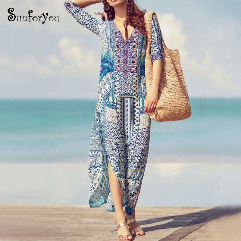 Artı boyutu Pamuk Plaj Kapak Hırka kadar Yaz Pareos Para Playa Kadınlar Plajı Robe de Plage kadar Bikini kapağı giymek