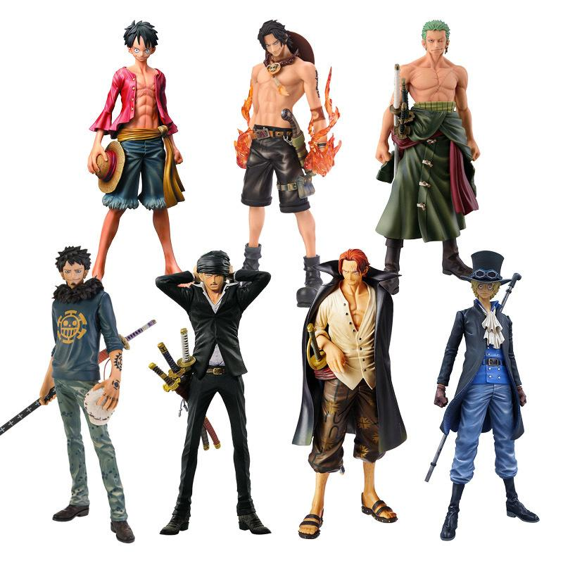 2020 Anime One Piece Figure Ace Shanks Monkey D Luffy Figure Zoro Sanji Law Trafalgar Sabo One Piece Anime Msp Pvc Model Toys Y200421 From Shanye07 8 86 Dhgate Com