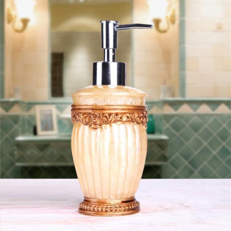 1шт дозаторы жидкого мыла ванной белая керамическая Эмульсия бутылки Ванна Керамические аксессуары для ванной комнаты мыло насос
