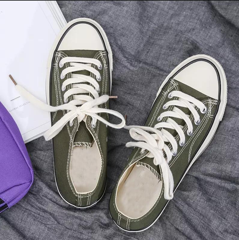 kanvas erkek rahat ayakkabı womens kırmızı, sarı, yeşil ayakkabı rahat açık kadınlar spor ayakkabı boyutu 36-44