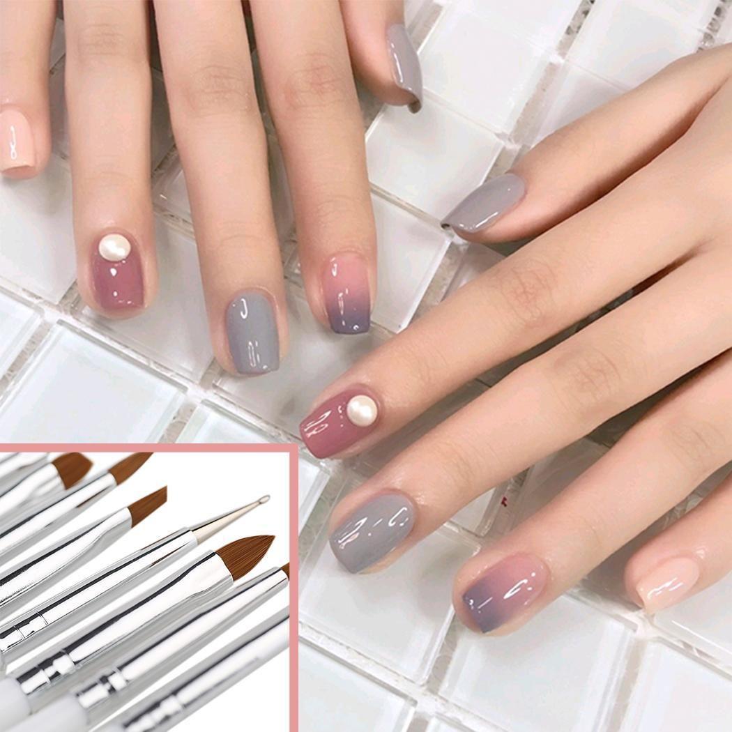 Fashion New Professional Nail Art Paint Drawing Pen Brush Gel Nail Decor Tools New Professional Nail Art Brush Nails Design Nails Designs From Directshop 1 26 Dhgate Com
