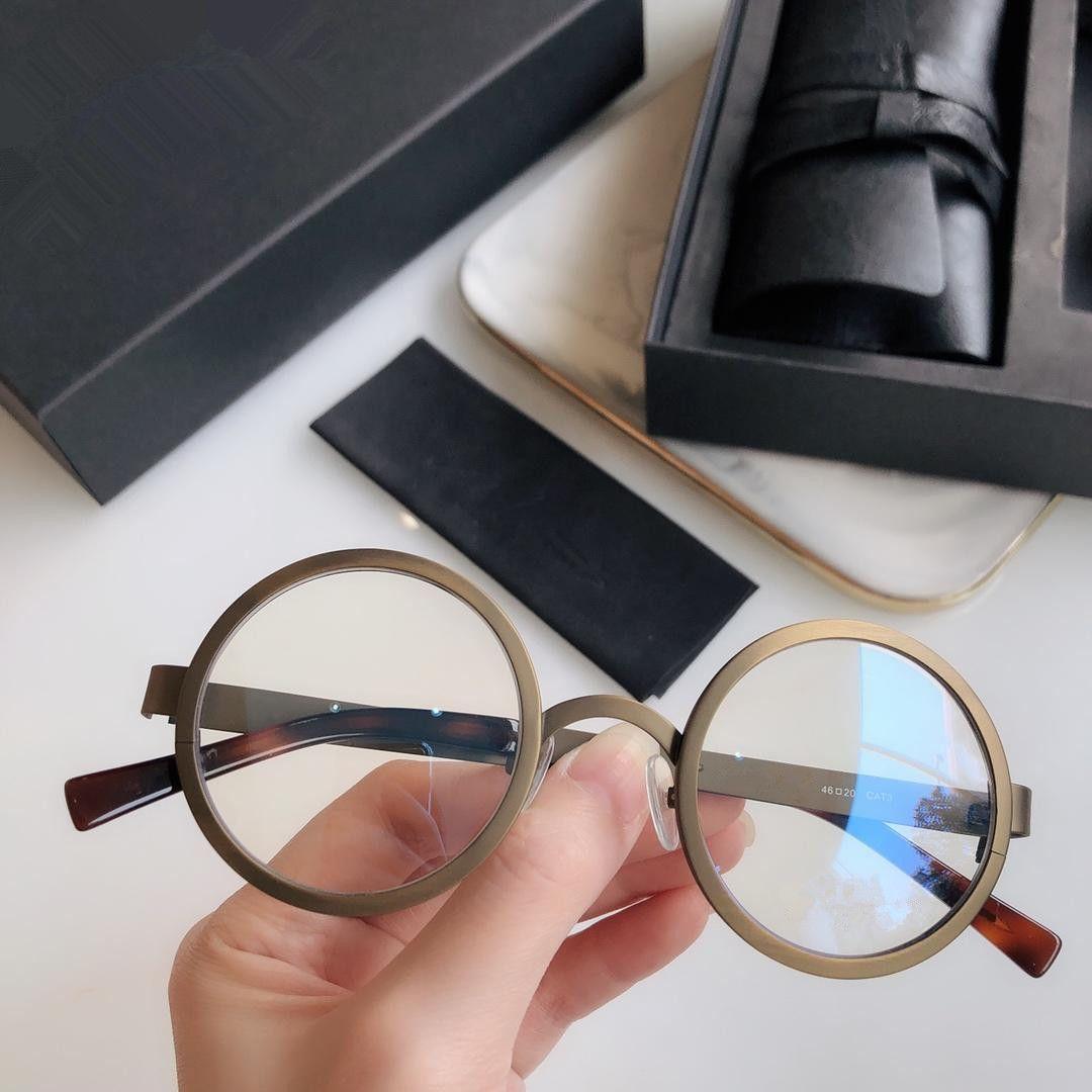 الإطار خمر ريترو نظارات القراءة جولة عدسة نظارات الرجال النساء نظارات الأسود الكامل البلاستيك قارئ العين القوة