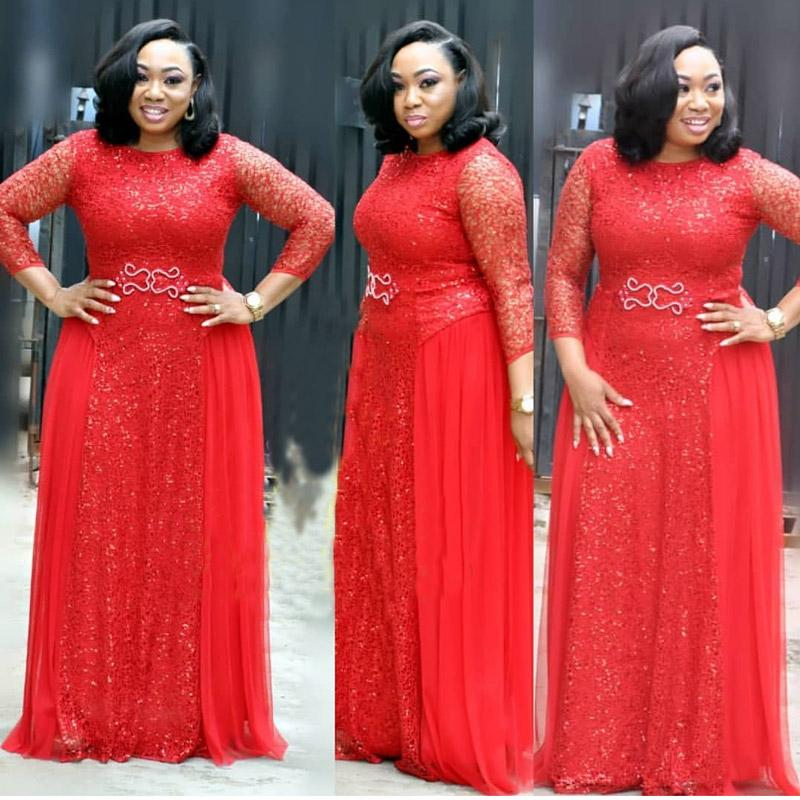 DH076 wholesale glittery dinner African mother unique wedding graduation ceremony Gold sequins red party dress evening gown african ladies