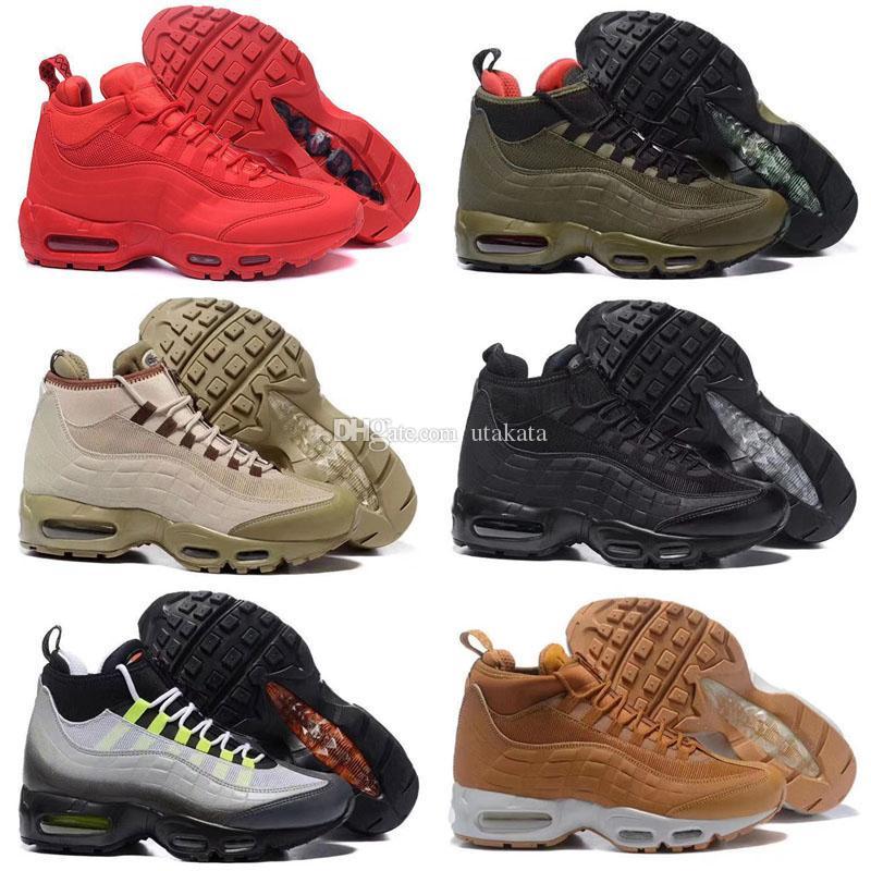2020 شتاء جديد sneakerboot مصمم الثلاثي الأحمر للرجال الاحذية الرياضية حذاء رياضة أحذية حجم 40-46