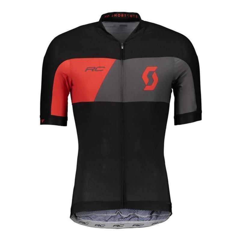 Best Pro Team Scott Cycling Jersey Bike Wear Summer Style Short Sleeve Tops Bib Shorts Sets Breathable Quick -dry Bicycle Clothes 82009y