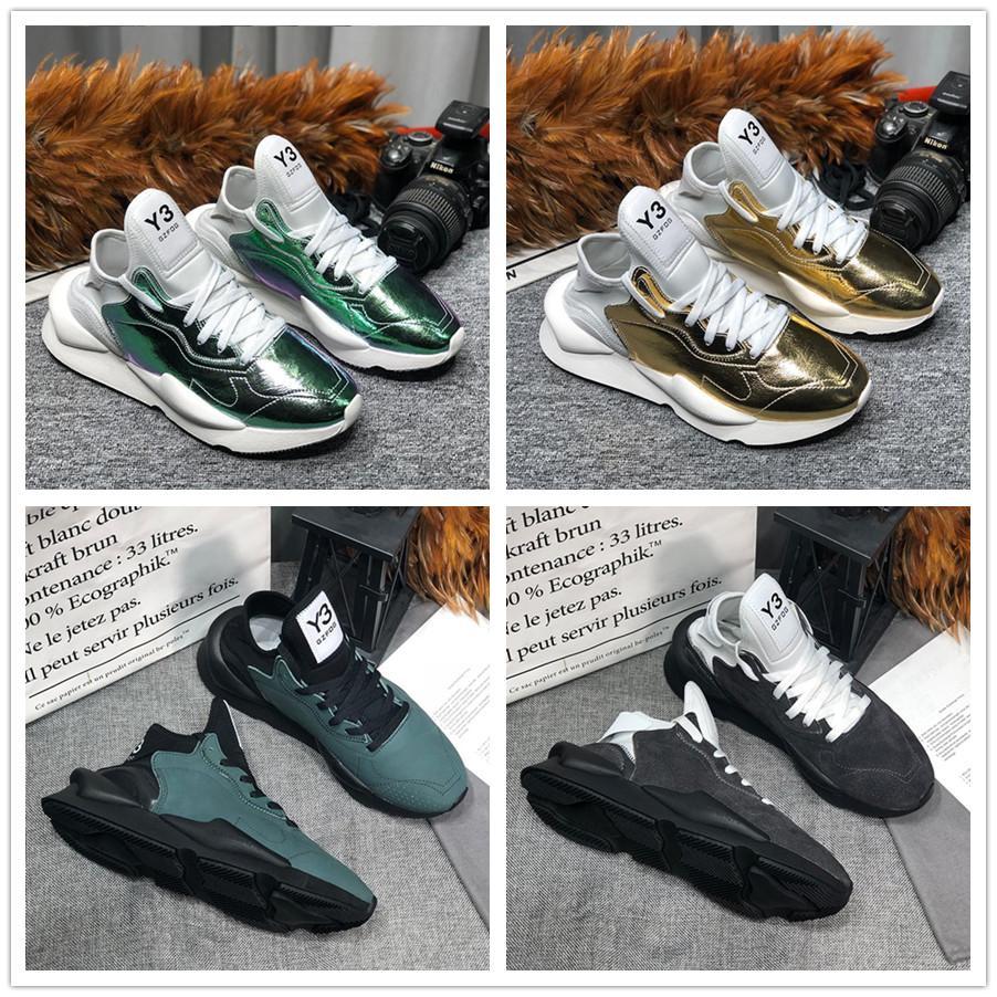 Adidas Shoes 】2020 мода kanye y-3 спортивные мокасины женщины мужские кроссовки для мужчин Y3 натуральная кожа кроссовки бегуны новое прибытие тренеры Y-3