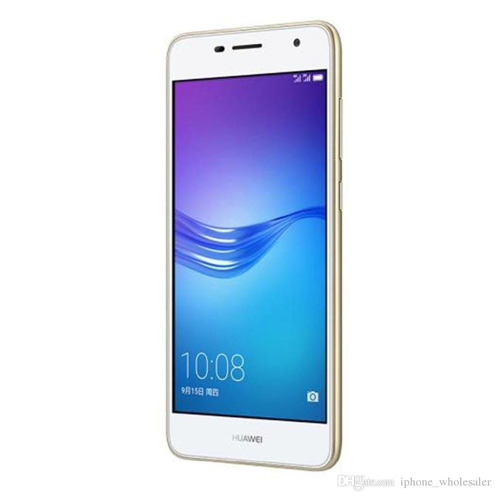 Orijinal Huawei 6 4G LTE Cep Telefonu MT6750 Octa Çekirdek 3 GB RAM 16GB ROM Android 5.0 inç 13.0MP Parmak İzi Kimlik OTG Akıllı Cep Telefonu Enjoy