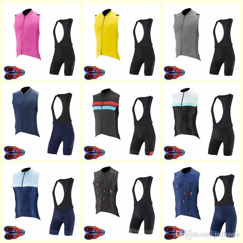 2020 КАПО велосипедной команды Джерси без рукавов жилет нагрудник шорты комплекты мужские летние быстрый сухой одежда удобная дышащая Горячий Новый U20042107