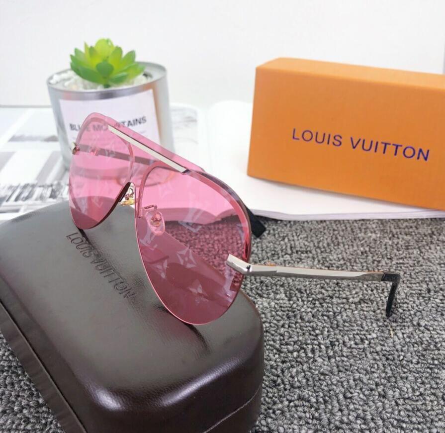 2020 Designer Sunglasses lusso occhiali da sole alla moda di qualità di modo polarizzato alta per shipping0118 delle donne degli uomini di vetro UV400 libero