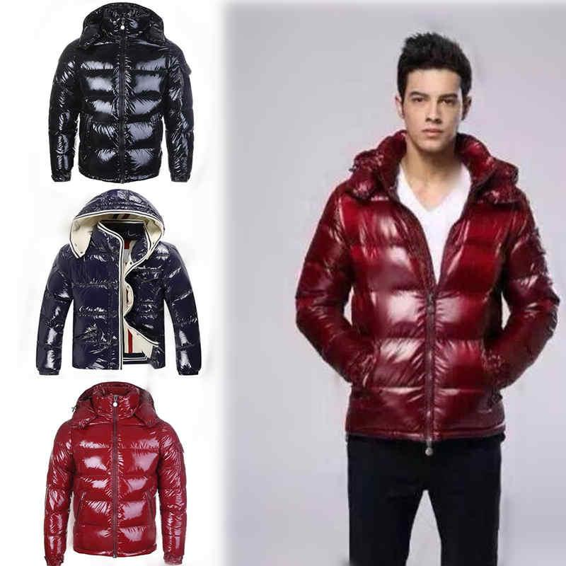 Top Fashion Men Casual Down Jacket Down Coats Mens Outdoor Warm Feather Man Winter Coat Outwear Jackets Parkas