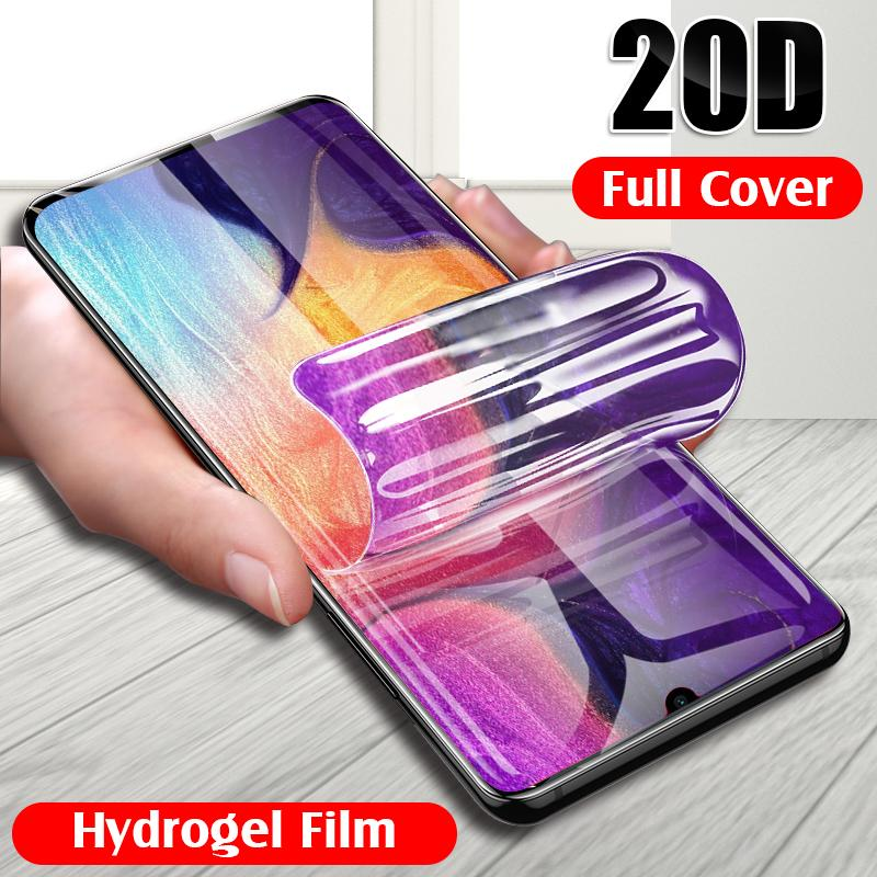 20D هيدروجيل الفيلم لسامسونج غالاكسي S8 S9 S10 زائد حامي الشاشة للحصول A50 A30 A20 A70 A80 A90 لينة الفيلم ليس زجاج