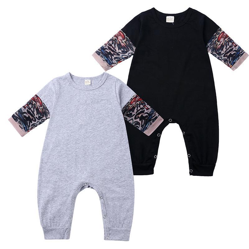 أطفال بنين الوشم كم السروال القصير الوليد الرضيع طباعة حللا ربيع الخريف أزياء بوتيك ملابس اطفال تسلق