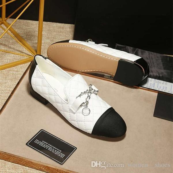 2019 diseñador de moda de lujo zapatos de mujer zapatillas de baloncesto zapatillas de deporte Stan Smith estrella alpargatas vintage con tamaño de caja 35-41 -8.6