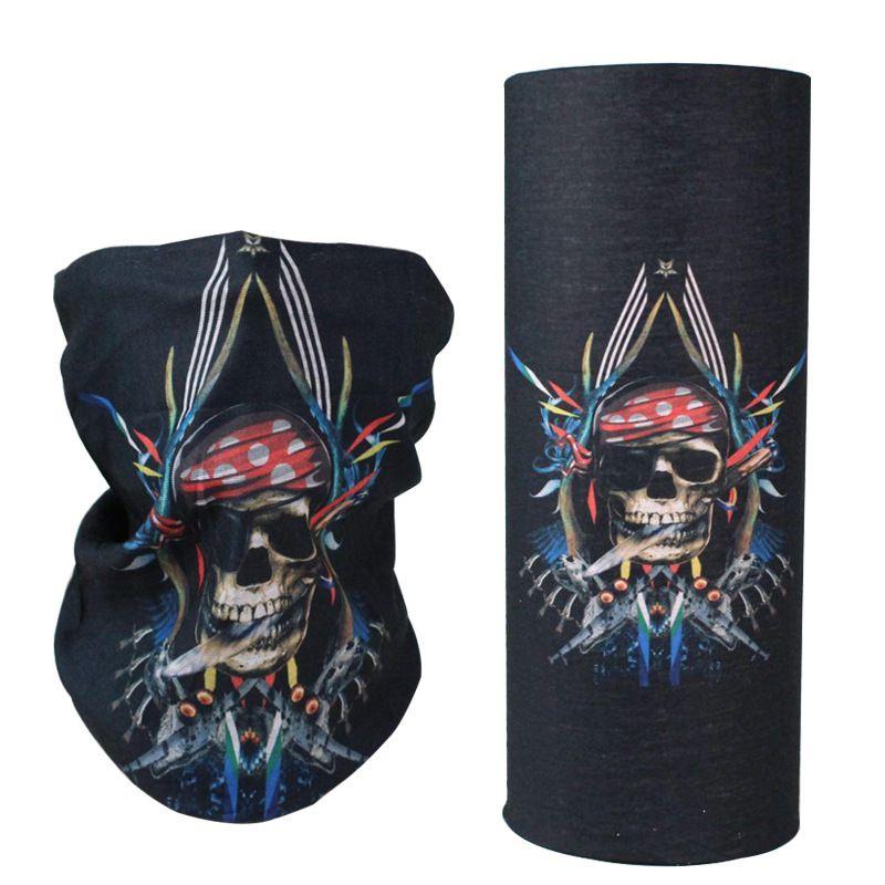 500/Outdoor Sports Cycling Headwear Neck Gaiter Face Mask Tube Magic scarf Fashion Accessories snood US sport Magic Headwear patriots mask