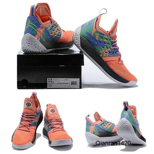 Nuova James Harden 2 di pallacanestro scarpe da uomo scarpe firmate Oro / Campionato MVP Finals Allenamento Scarpe Sneakers Run Dimensioni 7-12