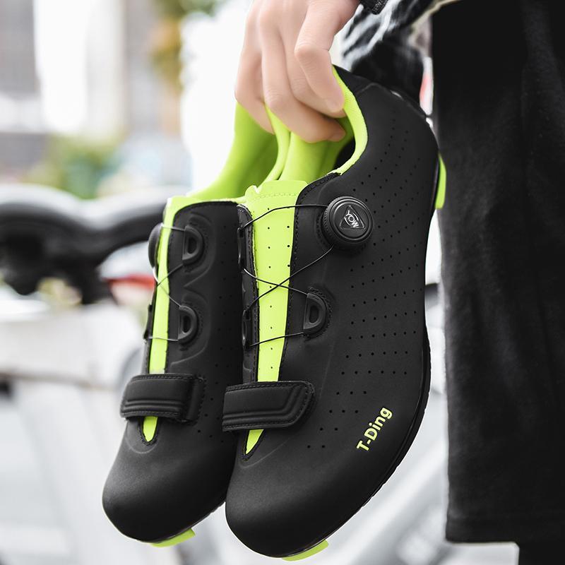 Scarpe ciclismo su strada Autobloccante strada di riciclaggio della bicicletta Ultralight Athletic corsa Sneakers Scarpe Ciclismo Bike