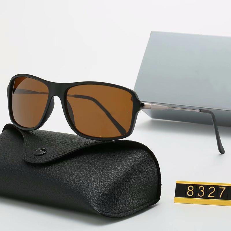 2020 موضة جديدة الطيار النظارات الشمسية المستقطبة للسائق الرجال النساء نظارات شمسية إطار معدني مرآة بولارويد زجاج عدسة مع الحالات ومربع 8327