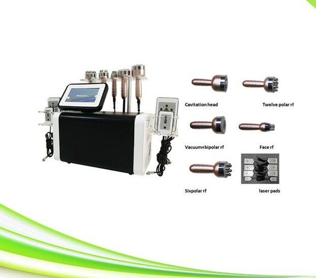 6 in 1 cavitazione cosmetica spa rf skin tightening sistema di cavitazione sottovuoto massaggio kim 8 sistema dimagrante