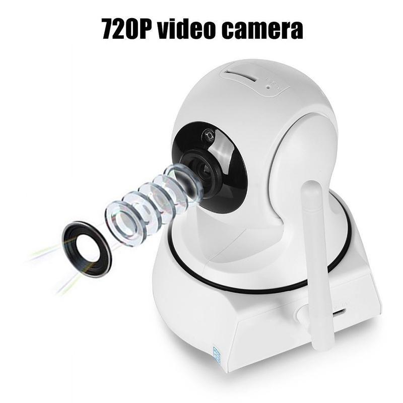 Accueil Sécurité sans fil IP Mini caméra de surveillance caméra wifi 720P vision nocturne CCTV Caméra moniteur pour bébé avec l'UE US Plug