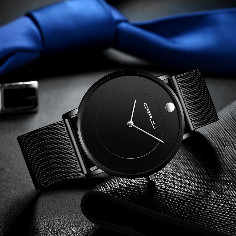Brand 2020 horloge montres supérieure montre-bracelette mannens fashion business crrju masculin band en acier de luxe quartz horloges imperméable Saat FCDMG