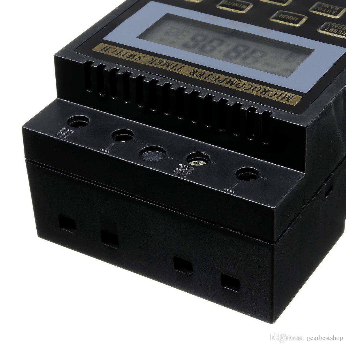 110V220V Microcomputador Temporizador Controlador do sincronismo KG316T Street Lamp Temporizador para fogão eléctrico aquecedor de água Pulverizador - 220V