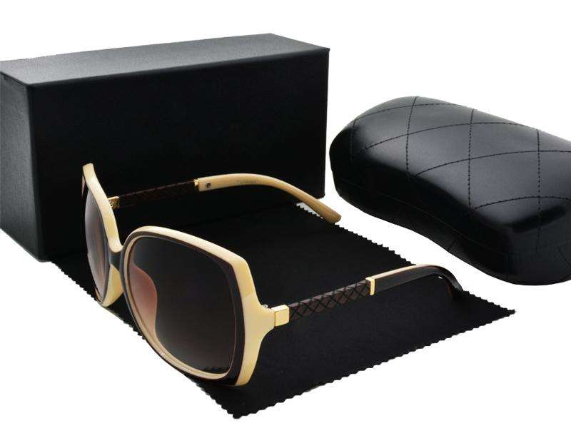 Wholesale-High quality New fashion women Brand designer womens sunglasses ladies sun glasses with cases and box