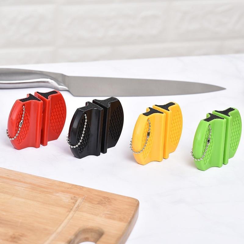 ميني الرئيسية السريع سكين مبراة متعددة الوظائف برأسين سكين مبراة المحمولة في الهواء الطلق فراشة سكين مبراة