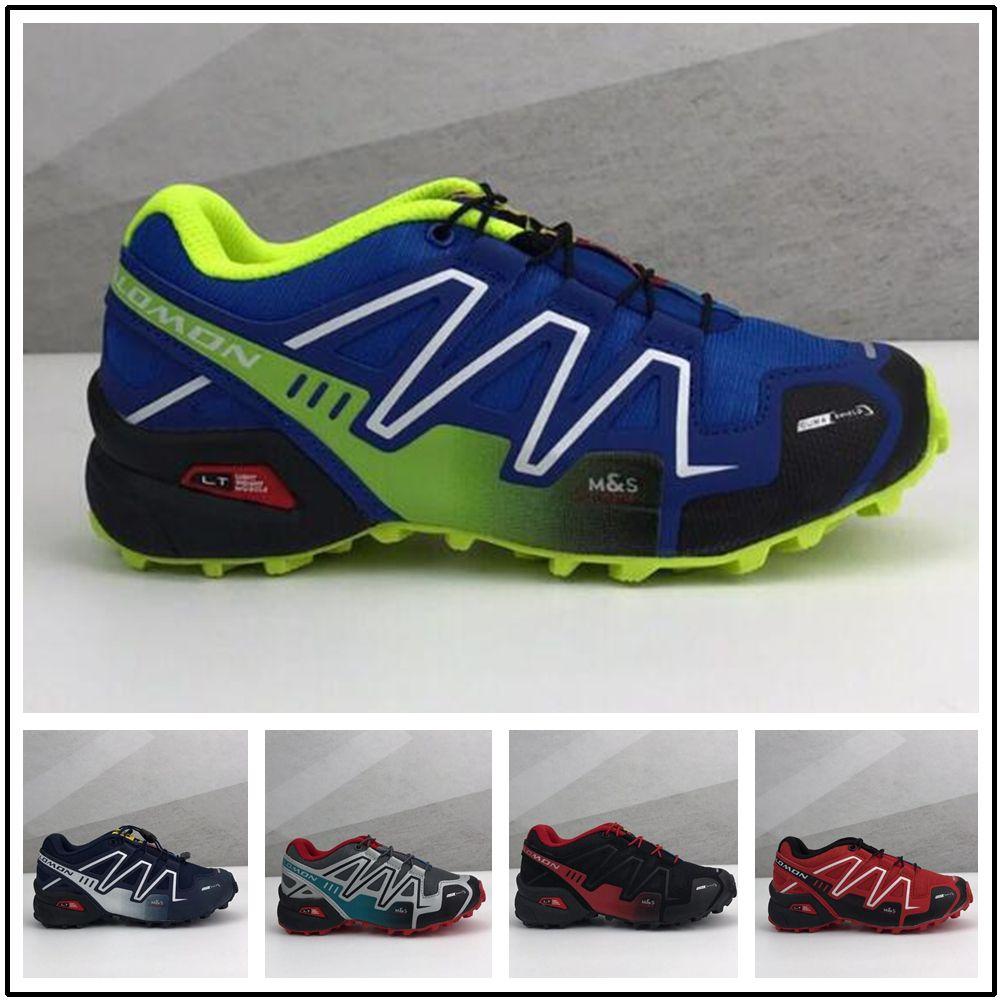 Compre Salomon Speed Cross Speedcross 3 Deporte Para Niños Baratas Zapatos  Hombre Speed Cross 3CS III Zapatillas Deportivas Para Niños Pequeños ...