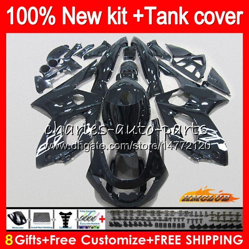Thundercat voor Yamaha YZF600R YZF 600R C 72HC.21 Zwart ALLE TOP YZF-600R 1996 1997 1998 1999 2000 2001 2002 2003 2004 2005 2006 2007 Kuip