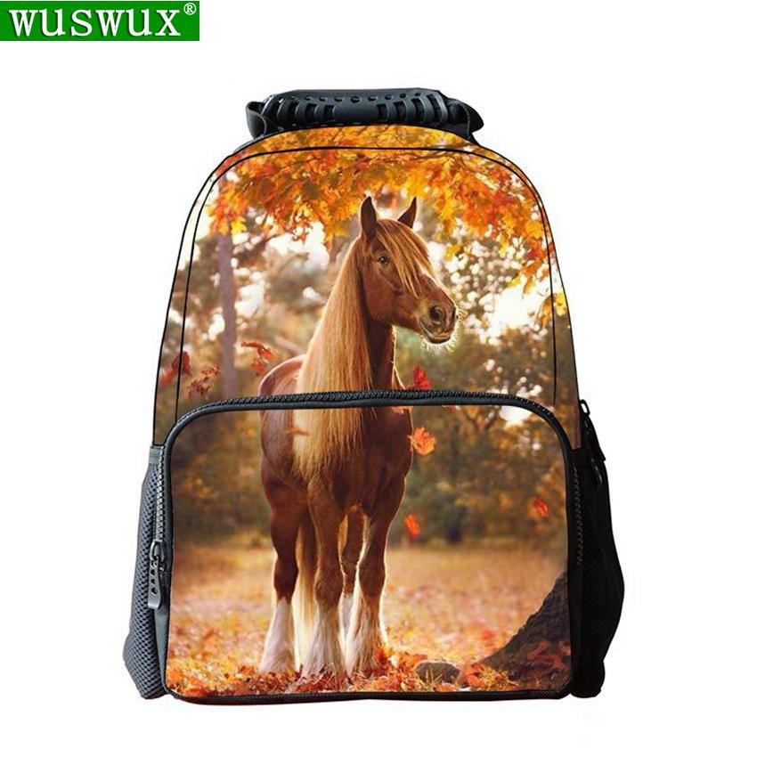 школьные рюкзаки новая мода личность печать школьные рюкзаки 3D милый животных детский рюкзак большой емкости школьная сумка