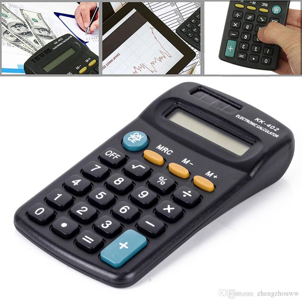 Лучшие Продажи Мини Портативный Карманный 8-значный Электронный Калькулятор Исследования Студенческая Школа Питания