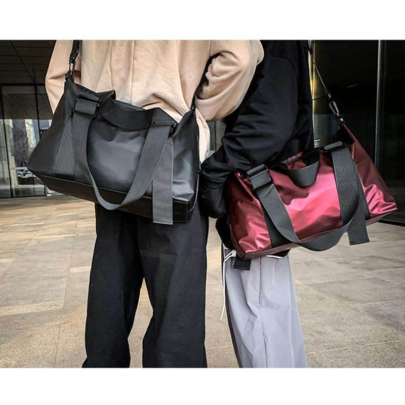 Waterproof Women Men Travel Bags Large Capacity Luggage Bag Streetwear Casual Travel Tote for Teenagers Crossbody Handbag