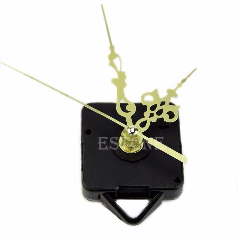 Saatler Saat Parça Aksesuar Basit DIY Altın Eller Kuvars Duvar Saati Hareketi Mekanizması Yedek Parça Kiti