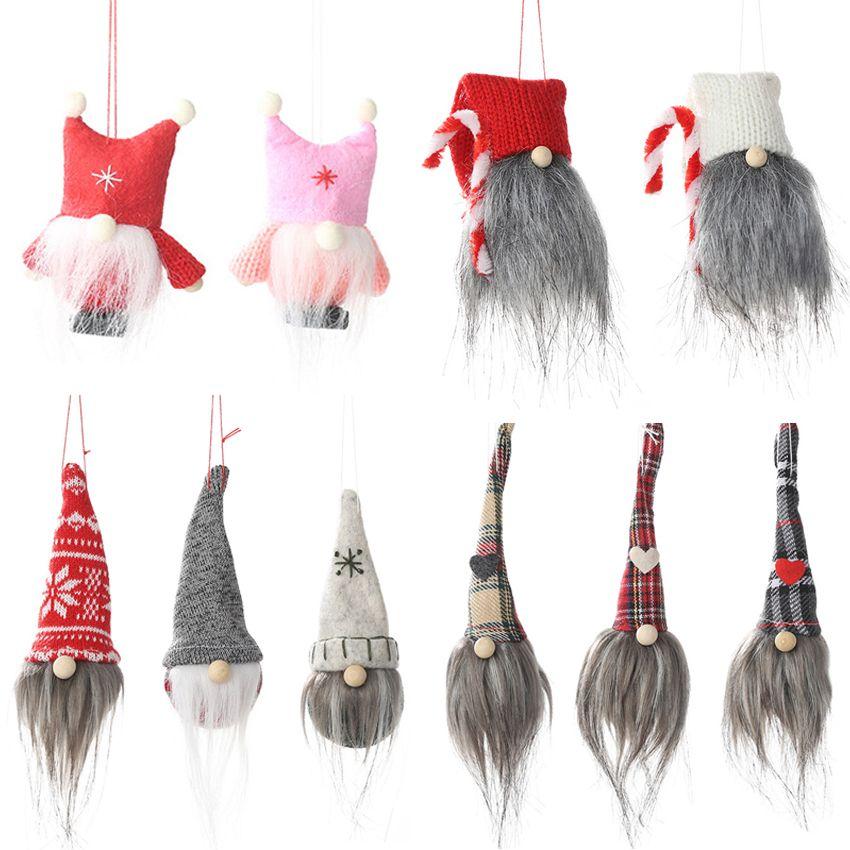 Favor Swedish Gnome Plush Doll Papai Noel de Natal Merry Christmas decorações do partido para casa Ano Novo caçoa o presente