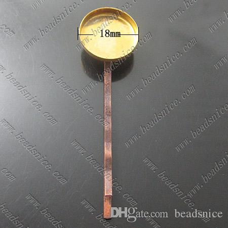 Beadsnice 황동 비녀 절묘한 크기 54x18x7mm 그녀의 보석 액세서리에 대 한 니켈 무료 리드 안전 고품질 수 제 선물 ID14289
