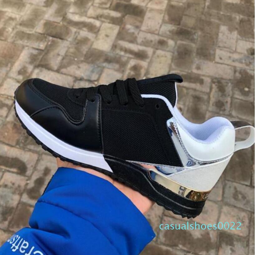 Yüksek kaliteli Tasarımcı Ayakkabı Markası Erkekler Kadınlar Düşük Kesim Casual Run Away Ayakkabı Fransa Marka Erkekler Kadınlar Sneakers Loafers 36-44 C22