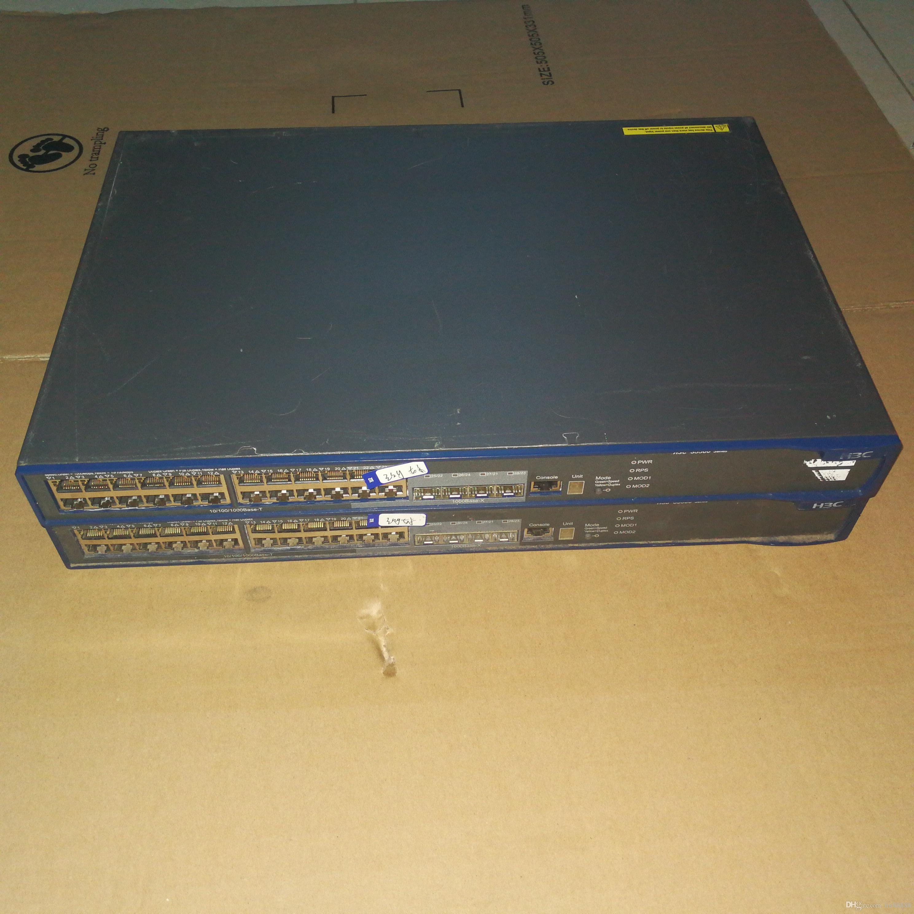 100% des commutateurs de serveurs de haute qualité pour H3C LS-S5500-28C-SI 24