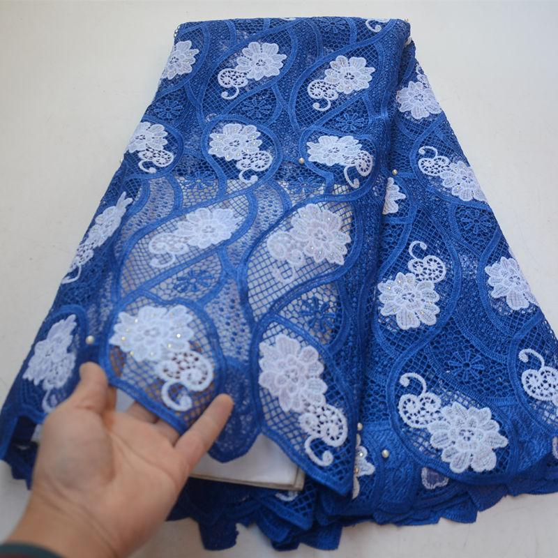 New design New design guipure cord lace handcut lace fabric high quality african style lace for garment -HL30