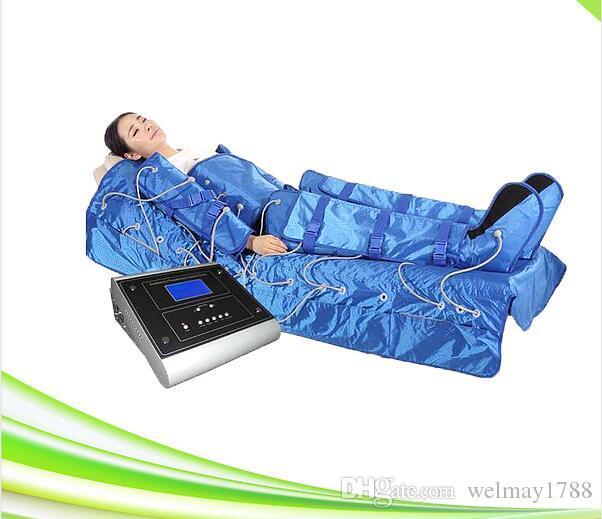 salón spa 3 en 1 máquina de presoterapia calor infrarrojo ropa delgada envoltura presión masaje circulación sanguínea EMS estimulación muscular eléctrica