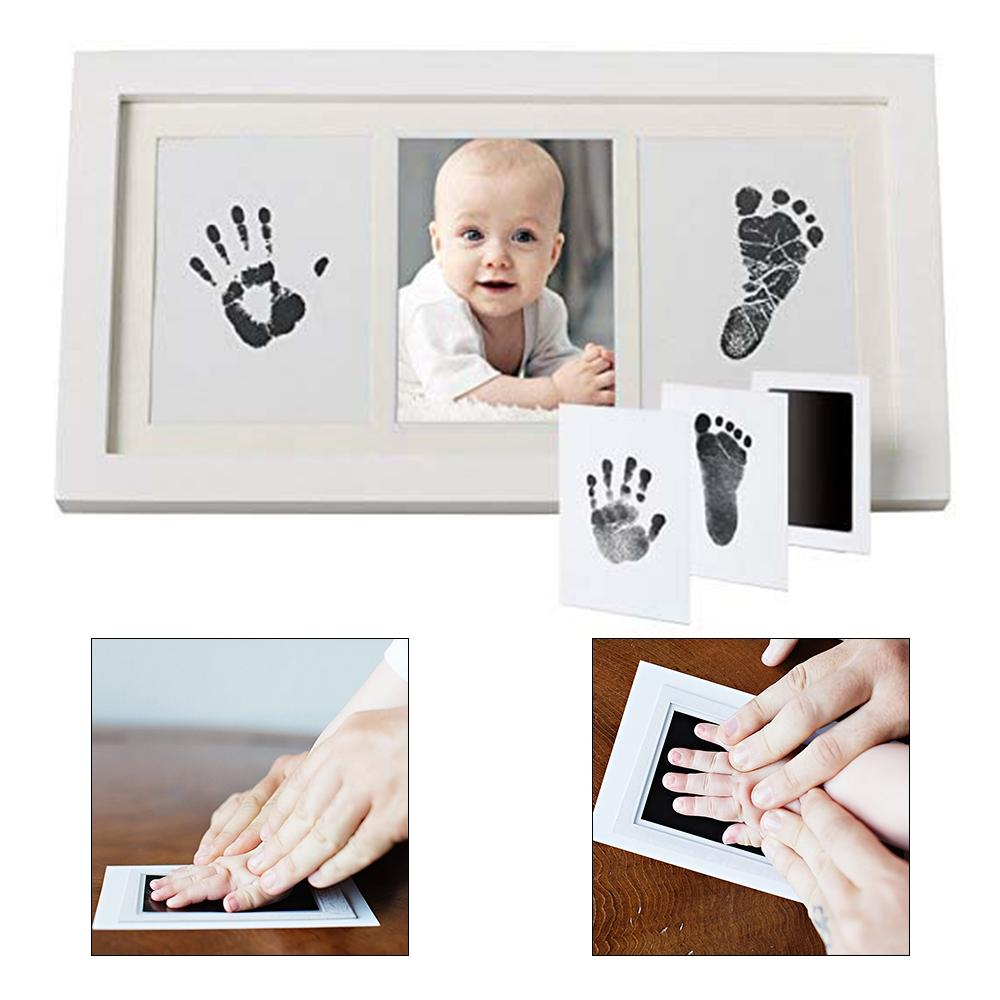 Baby Care Non-Toxic Handprint Footprint Imprint Kit Casting Newborn Clay Toy HOT