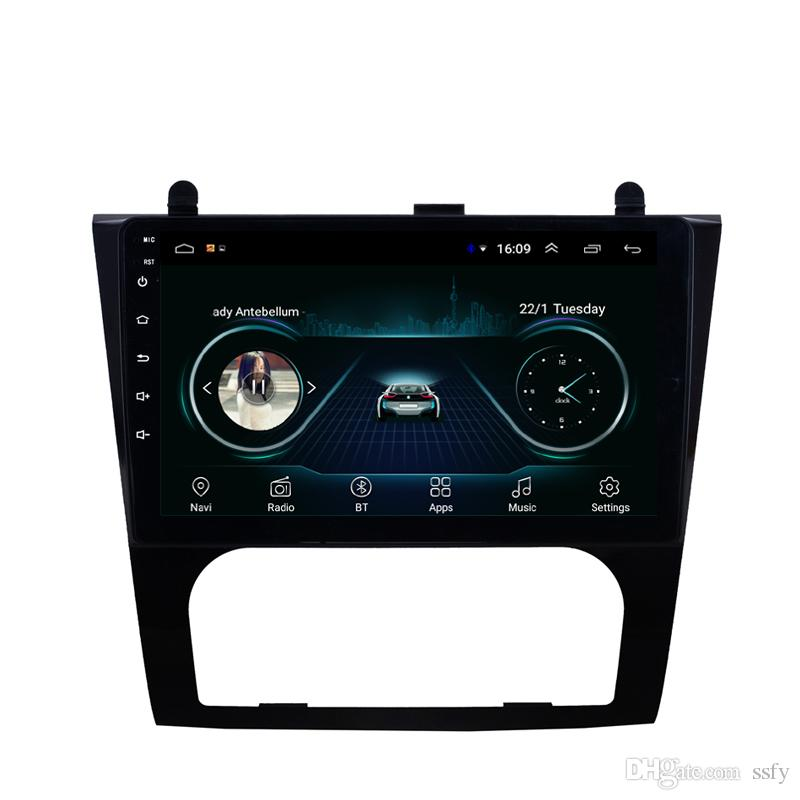"""Android car GPS with radio bluetooth multi-touch screen free map multimedia player front camera for Nissan altima automatic AC 2008-2012 9"""""""