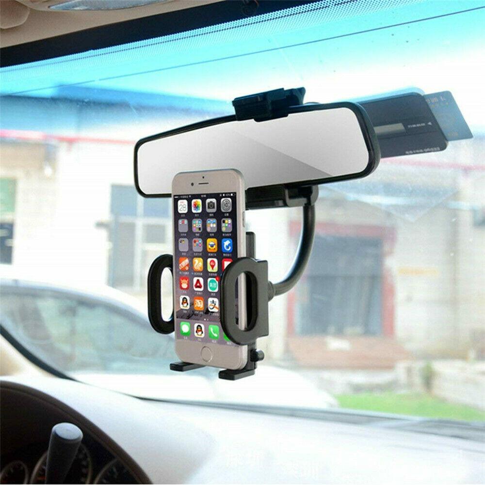 NEW 유니버설 360 ° 자동차 백미러 마운트 휴대 전화의 GPS에 대한 홀더 크래들 스탠드 (소매)