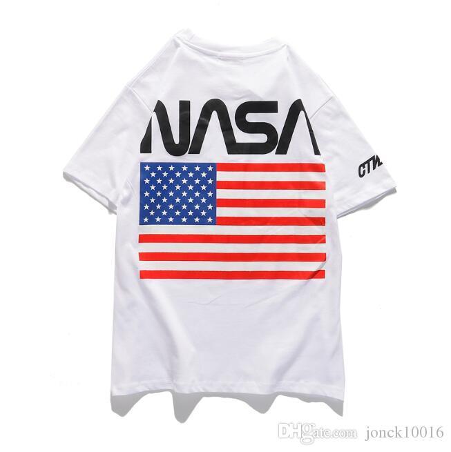 bandiere marca marea europee e americane nome comune ins netta rosso super fuoco a maniche corte uomini e le donne della maglietta