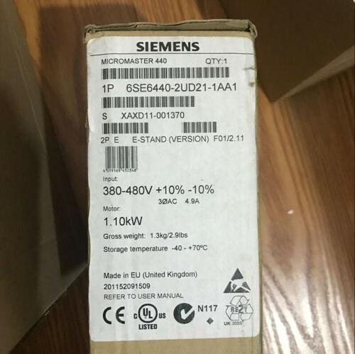 M440 SIEMENS 6SE6440-2UD21-1AA1 MICROMASTER NUOVO IN SCATOLA