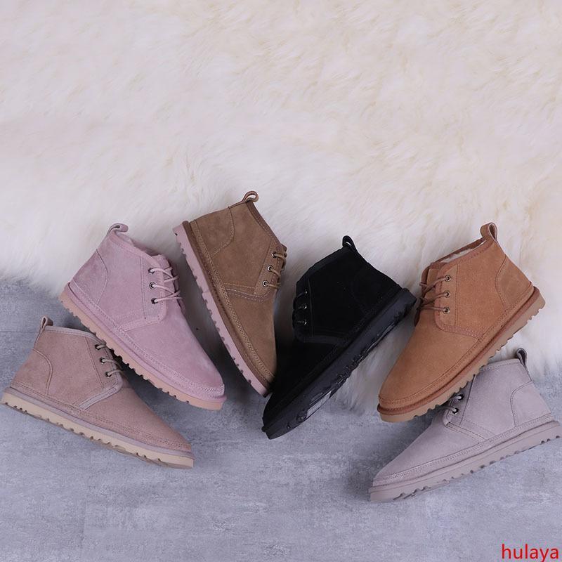 Diseñador Neumel mujeres nieve del invierno botas de moda Australia arco corto botines rodilla del arco de la muchacha MINI Bailey Boot 2019